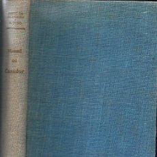 Coleccionismo deportivo: ARAMBURU Y PONS GENDRAU : MANUAL DEL CAZADOR Y ADIESTRAMIENTO DEL PERRO DE MUESTRA (SINTES, 1964). Lote 132568450