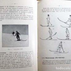 Coleccionismo deportivo: MANUEL DU SKIEUR (MANUAL DEL ESQUIADOR, 1925. ESQUI 65 ILUSTRACIONES. Lote 132725178
