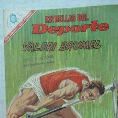 Coleccionismo deportivo: ESTRELLAS DEL DEPORTE NOVARO. BUEN ESTADO BALERI BRUMEL ATLETISMO TZ. Lote 132856290