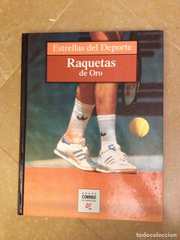 RAQUETAS DE ORO (ESTRELLAS DEL DEPORTE) (Coleccionismo Deportivo - Libros de Deportes - Otros)