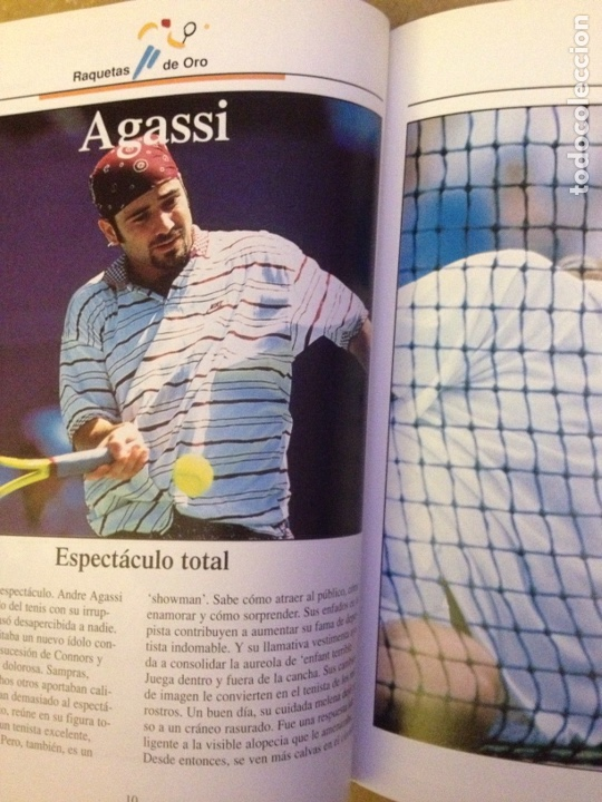 Coleccionismo deportivo: Raquetas de oro (Estrellas del Deporte) - Foto 7 - 133055462