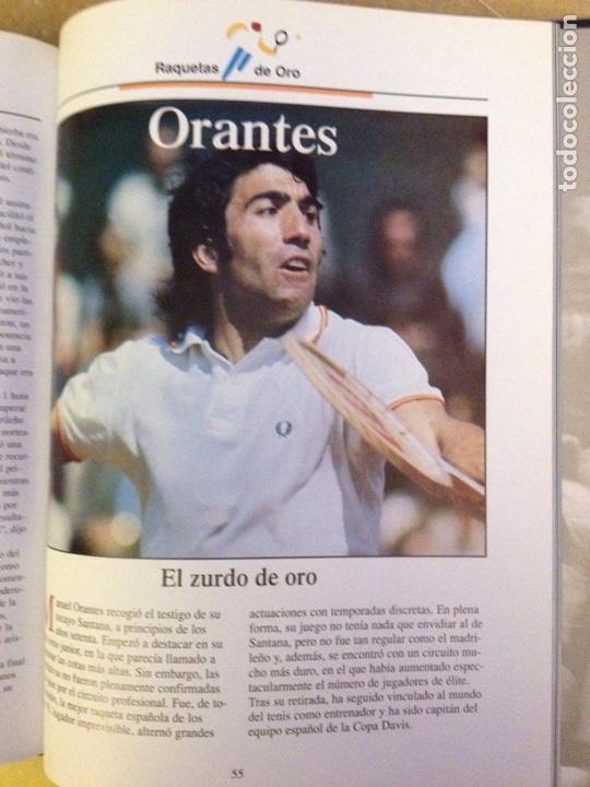 Coleccionismo deportivo: Raquetas de oro (Estrellas del Deporte) - Foto 9 - 133055462