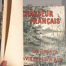 Coleccionismo deportivo: LE CHASSEUR FRANÇAIS (REVISTA DE CAZA 2 AÑOS 1920-21. (PARTIE VERTE: PÁGINAS COMERCIALES. Lote 133146246