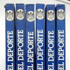 Coleccionismo deportivo: ENCICLOPEDIA MUNDIAL DEL DEPORTE. 6 TOMOS. COMPLETA. Lote 133165806