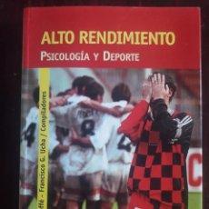 Coleccionismo deportivo: ALTO RENDIMIENTO-PSICOLOGIA Y DEPORTE-MARCELO ROFFE-EDIT LUGAR-2005. Lote 133830434