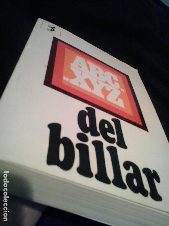 ABC... XYZ DEL BILLAR - (BARCELONA, 1971) JAVIER ARDEVOL (MANUAL DEL JUEGO DEL BILLAR) (Coleccionismo Deportivo - Libros de Deportes - Otros)
