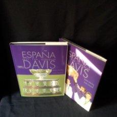 Coleccionismo deportivo: RAMON SANCHEZ Y EMILIO MARTINEZ - ESPAÑA EN LA COPA DAVIS (2 TOMOS) - RFET 2000. Lote 134481034