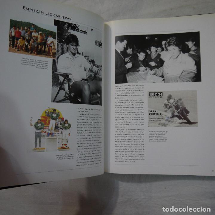 Coleccionismo deportivo: ALEX CRIVILLÉ. MI VIDA - AUTOBIOGRAFÍA POR PERE GURT Y JOSEP VIAPLANA - EDITORIAL MARIN - 1999 - Foto 10 - 135316538