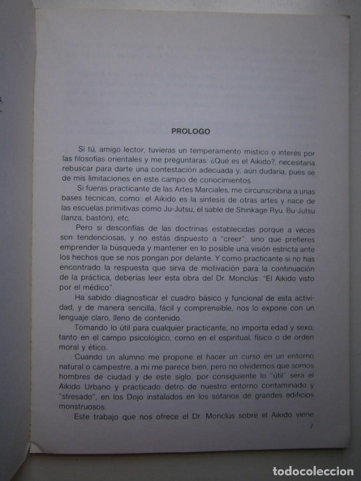 Coleccionismo deportivo: EL AIKIDO VISTO POR EL MEDICO ALAS 1987 - Foto 12 - 135468154