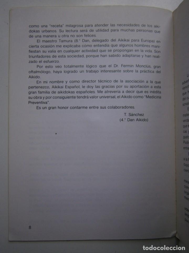 Coleccionismo deportivo: EL AIKIDO VISTO POR EL MEDICO ALAS 1987 - Foto 13 - 135468154