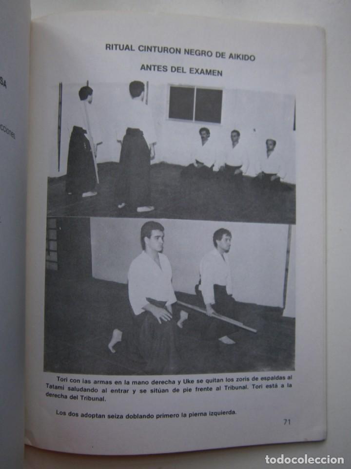 Coleccionismo deportivo: EL AIKIDO VISTO POR EL MEDICO ALAS 1987 - Foto 17 - 135468154