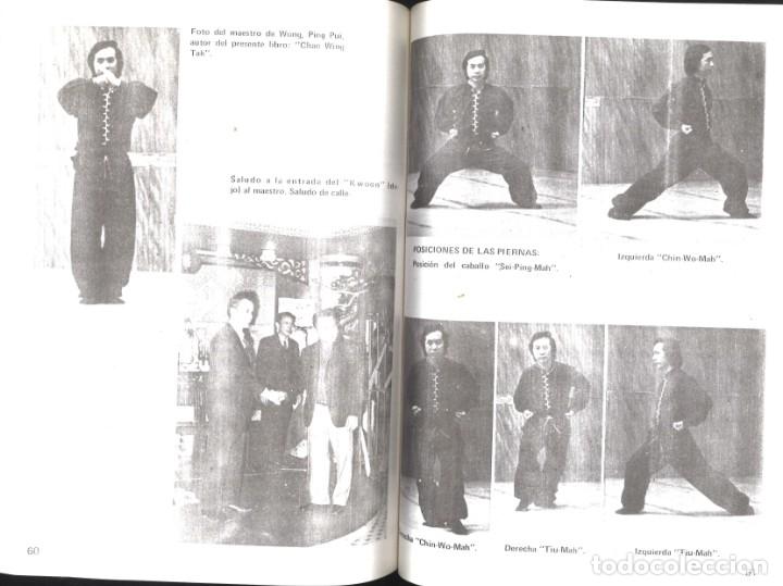 Coleccionismo deportivo: Kung Fu. Historia-Filosofía-Técnicas-Kata. 1987 - Foto 2 - 136656270