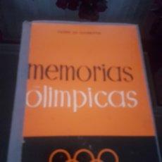 Collectionnisme sportif: MEMORIAS OLÍMPICAS. Lote 138753208