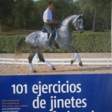 Coleccionismo deportivo: 101 EJERCICIOS DE JINETES PROFESIONALES JAKI BELL PICOBELLO 2007. Lote 139233450