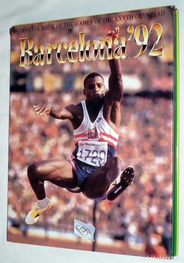 LIBRO BARCELONA ´92 - OLIMPIADAS - OFICIAL BOOK OF THE GAMES (Coleccionismo Deportivo - Libros de Deportes - Otros)