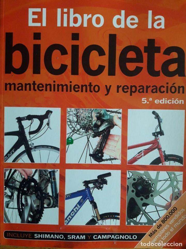 EL LIBRO DE LA BICICLETA MANTENIMIENTO Y REPARACIÓN / FRED MILSON / EDI. OMEGA / 5ª EDICIÓN 2008 (Coleccionismo Deportivo - Libros de Deportes - Otros)