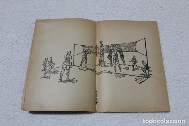 Coleccionismo deportivo: REGLAMENTO DE BALON VOLEA. ESCUELA CENTRAL DE EDUCACIÓN FISICA - AÑO 1943 - Foto 4 - 141591214