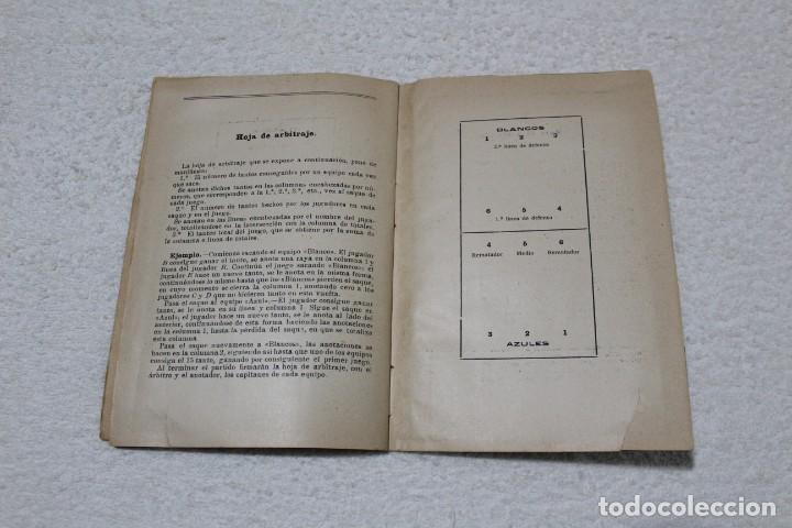 Coleccionismo deportivo: REGLAMENTO DE BALON VOLEA. ESCUELA CENTRAL DE EDUCACIÓN FISICA - AÑO 1943 - Foto 5 - 141591214