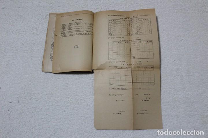 Coleccionismo deportivo: REGLAMENTO DE BALON VOLEA. ESCUELA CENTRAL DE EDUCACIÓN FISICA - AÑO 1943 - Foto 6 - 141591214