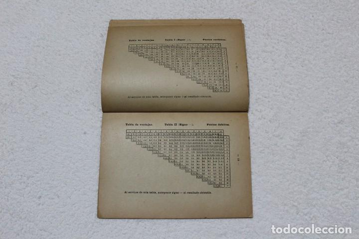 Coleccionismo deportivo: REGLAMENTO DE TENIS. ESCUELA CENTRAL DE EDUCACIÓN FISICA - AÑO 1943 - Foto 4 - 141595414