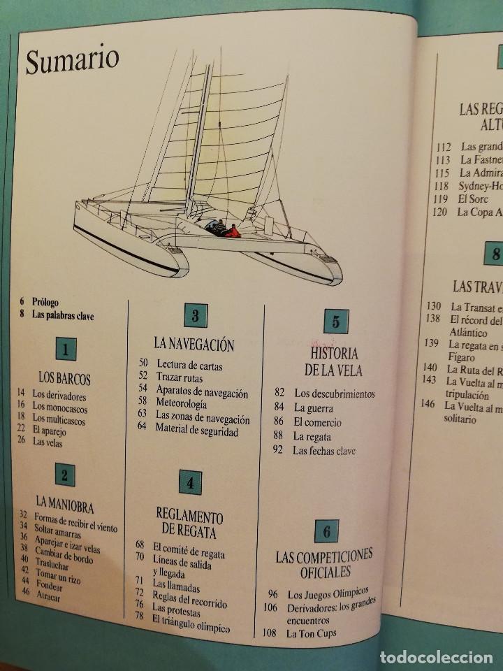 Coleccionismo deportivo: MANUAL TUTOR DE LA VELA (GILLES COZANET) - Foto 3 - 142134510