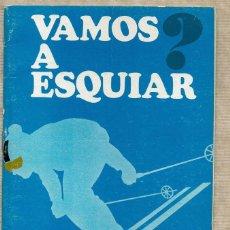 Colecionismo desportivo: VAMOS A ESQUIAR ? - BANCO DE BILBAO - ÁNGEL RÉGIL CANTERO - LUIS HERREROS RODRÍGUEZ. Lote 142802874