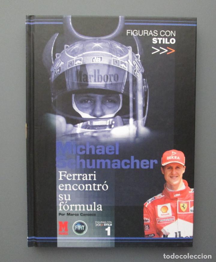 MICHAEL SCHUMACHER - FIGURAS CON STILO - DIARIO MARCA 2002 - FORMULA 1 - COMO NUEVO (Coleccionismo Deportivo - Libros de Deportes - Otros)