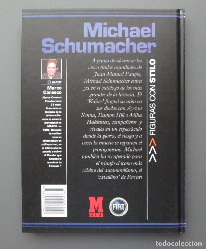 Coleccionismo deportivo: MICHAEL SCHUMACHER - FIGURAS CON STILO - DIARIO MARCA 2002 - FORMULA 1 - COMO NUEVO - Foto 2 - 142830738