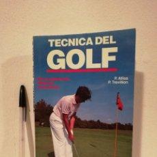 Coleccionismo deportivo: LIBRO - TÉCNICA DEL GOLF - HOBBIES - PETER ALLISS - ED. HISPANO EUROPEA. Lote 143112874