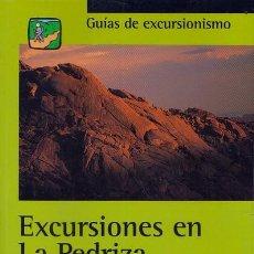 Coleccionismo deportivo: EXCURSIONES EN LA PEDRIZA DEL MANZANARES - PLIEGO, DOMINGO . Lote 143998818