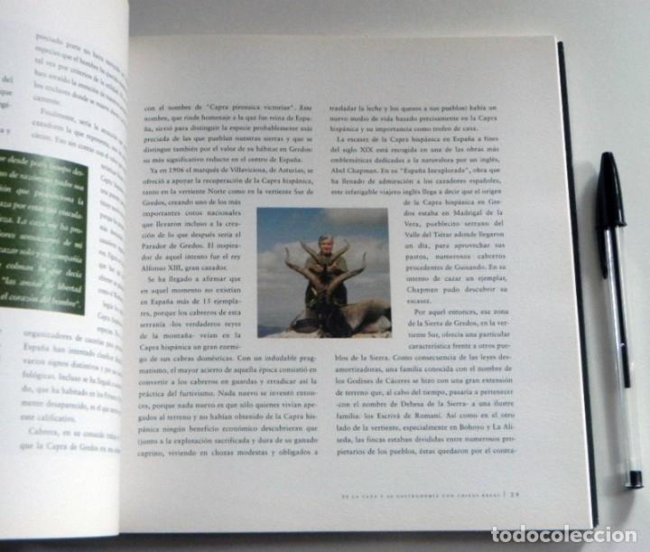 Coleccionismo deportivo: DE LA CAZA Y SU GASTRONOMÍA CON CHIVAS REGAL LIBRO CAZADORES PERROS ENTREVIST GERENTE DE ARMAS ARZAK - Foto 11 - 144573726