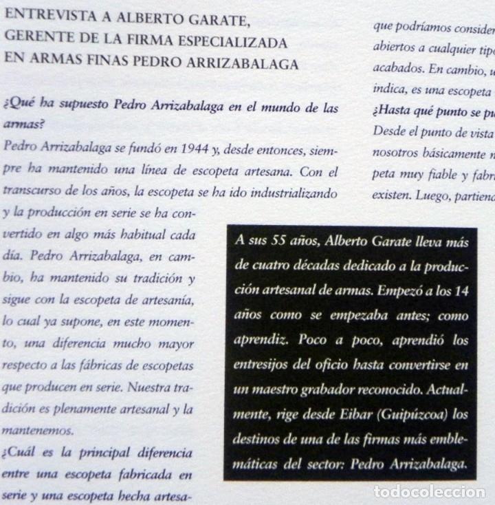 Coleccionismo deportivo: DE LA CAZA Y SU GASTRONOMÍA CON CHIVAS REGAL LIBRO CAZADORES PERROS ENTREVIST GERENTE DE ARMAS ARZAK - Foto 5 - 144573726