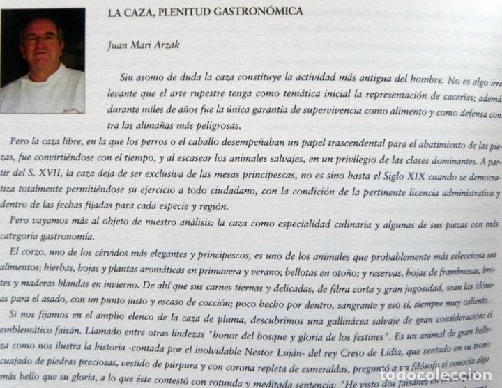 Coleccionismo deportivo: DE LA CAZA Y SU GASTRONOMÍA CON CHIVAS REGAL LIBRO CAZADORES PERROS ENTREVIST GERENTE DE ARMAS ARZAK - Foto 8 - 144573726