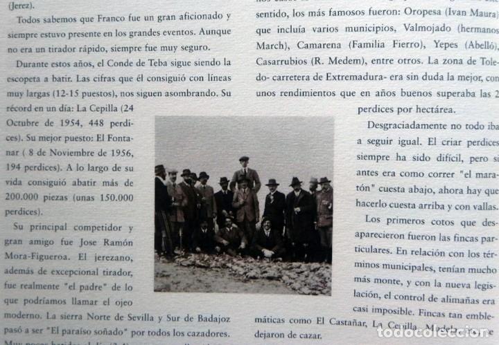 Coleccionismo deportivo: DE LA CAZA Y SU GASTRONOMÍA CON CHIVAS REGAL LIBRO CAZADORES PERROS ENTREVIST GERENTE DE ARMAS ARZAK - Foto 6 - 144573726