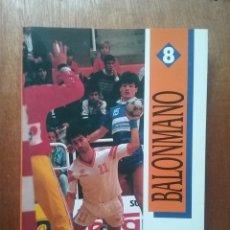 Coleccionismo deportivo - BALONMANO, COMITE OLIMPICO ESPAÑOL, FEDERACION ESPAÑOLA DE BALONMANO, 1991 - 144665370