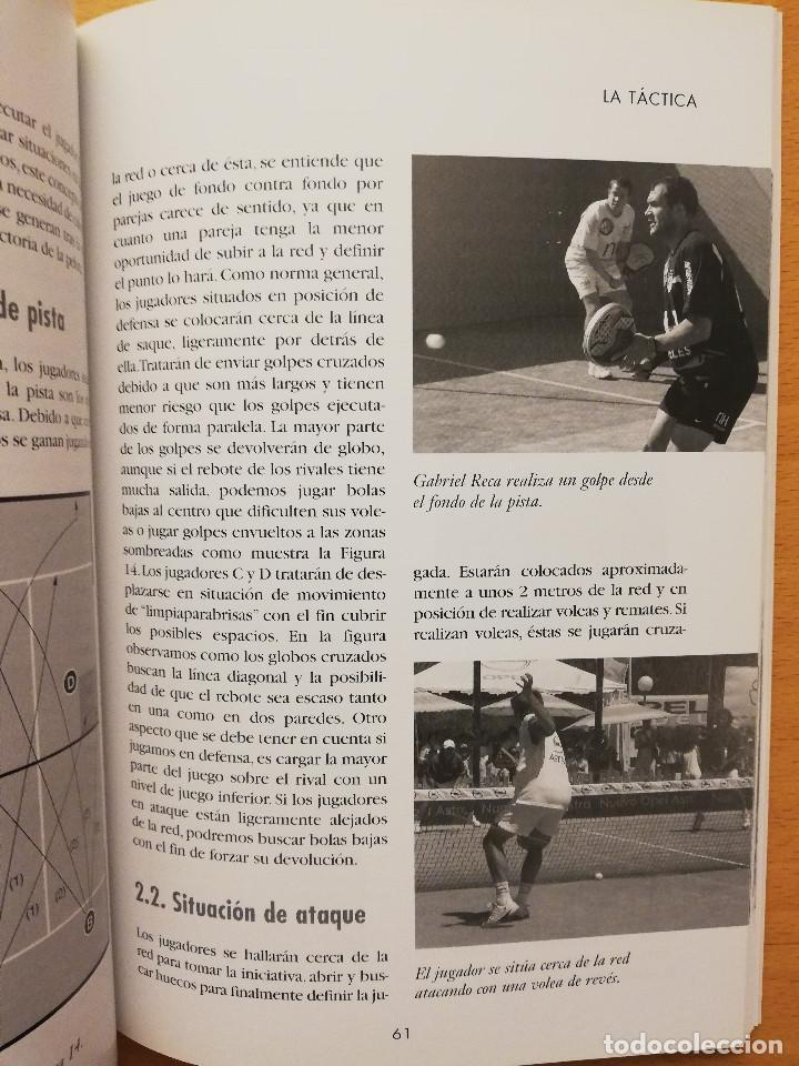 Coleccionismo deportivo: ESCUELA DE... PÁDEL DEL APRENDIZAJE A LA COMPETICIÓN AMATEUR (CARLOS GONZÁLEZ CARVAJAL) - Foto 10 - 147621578