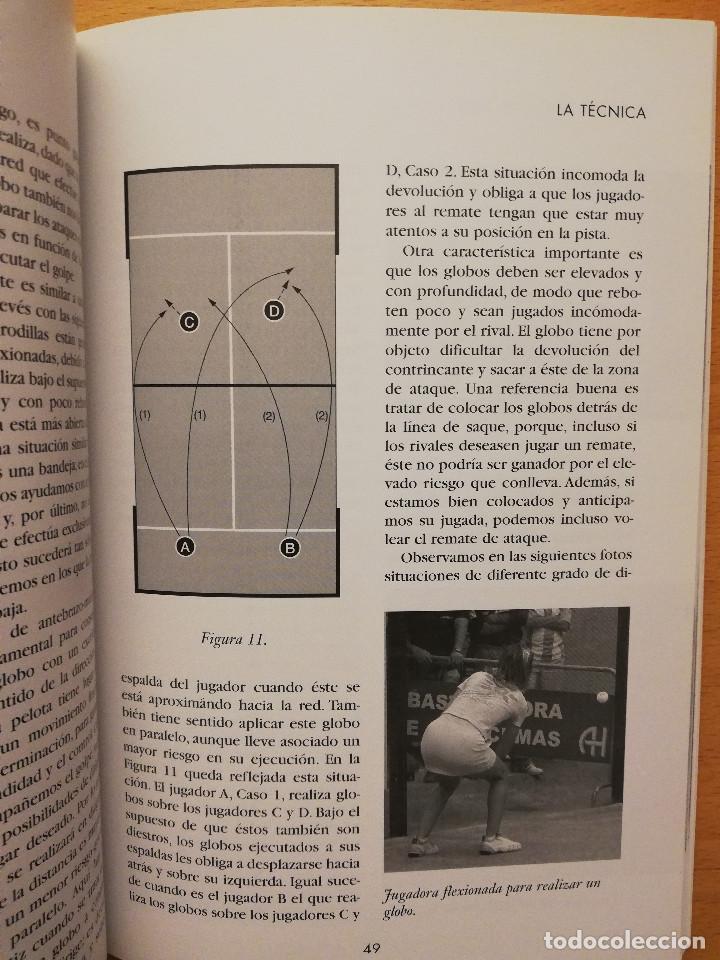 Coleccionismo deportivo: ESCUELA DE... PÁDEL DEL APRENDIZAJE A LA COMPETICIÓN AMATEUR (CARLOS GONZÁLEZ CARVAJAL) - Foto 11 - 147621578