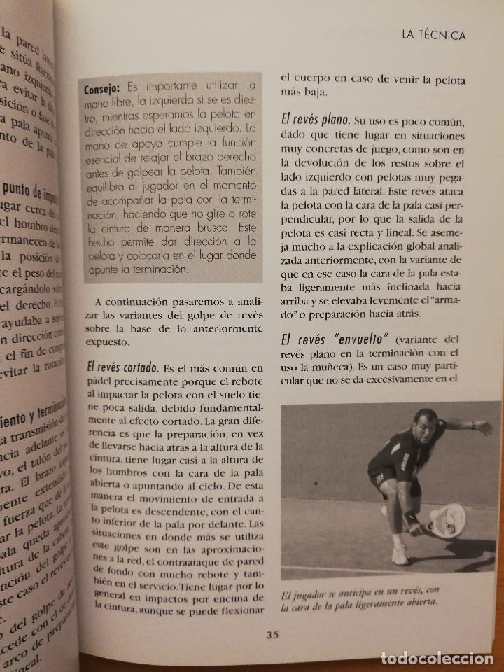 Coleccionismo deportivo: ESCUELA DE... PÁDEL DEL APRENDIZAJE A LA COMPETICIÓN AMATEUR (CARLOS GONZÁLEZ CARVAJAL) - Foto 12 - 147621578