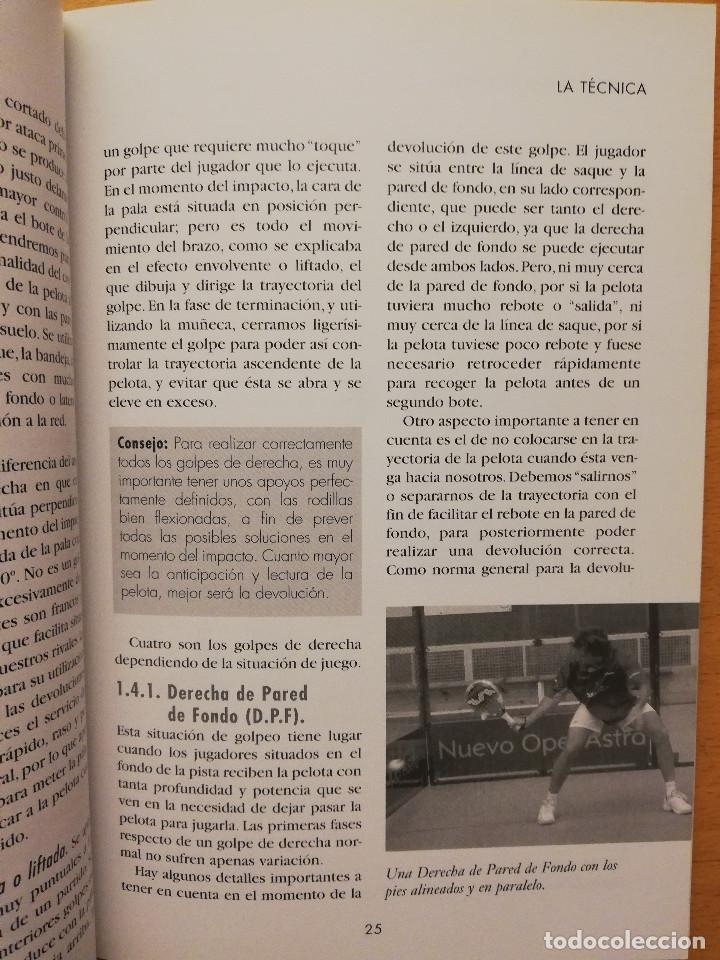 Coleccionismo deportivo: ESCUELA DE... PÁDEL DEL APRENDIZAJE A LA COMPETICIÓN AMATEUR (CARLOS GONZÁLEZ CARVAJAL) - Foto 14 - 147621578