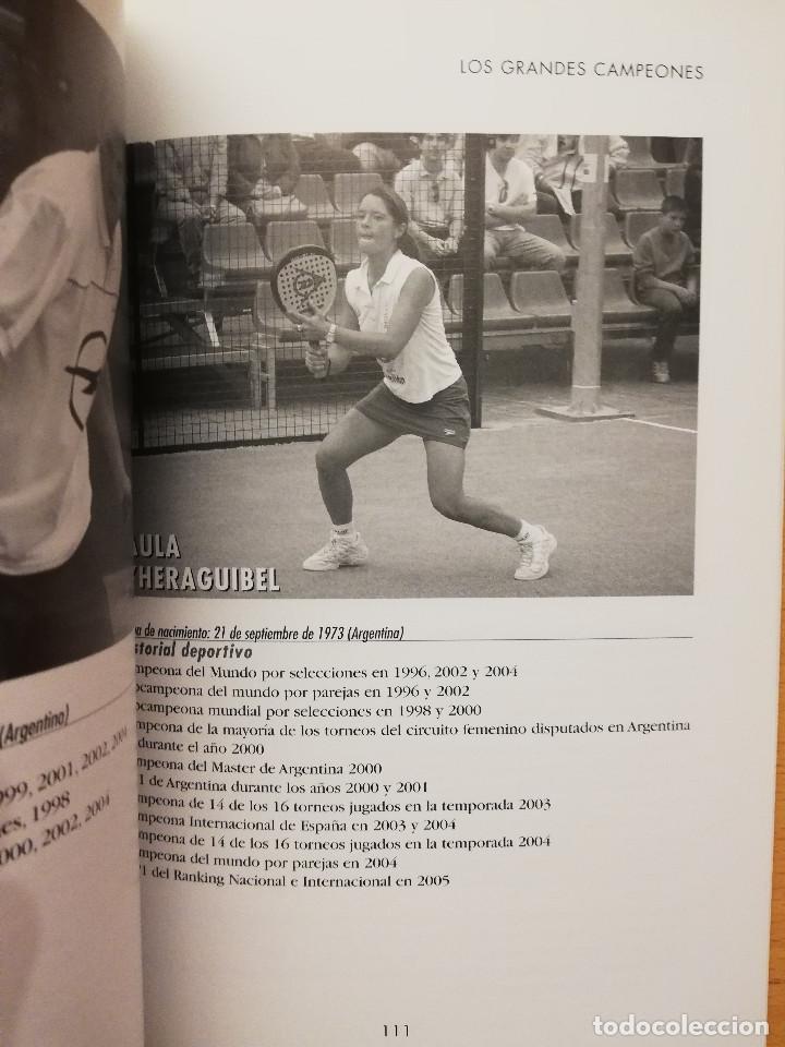 Coleccionismo deportivo: ESCUELA DE... PÁDEL DEL APRENDIZAJE A LA COMPETICIÓN AMATEUR (CARLOS GONZÁLEZ CARVAJAL) - Foto 15 - 147621578