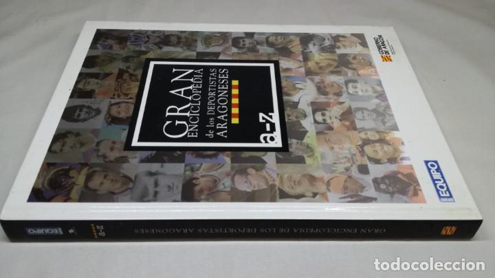 Coleccionismo deportivo: GRAN ENCICLOPEDIA DE LOS DEPORTISTAS ARAGONESES/ A A LA Z/ EQUIPO - GOBIERNO DE ARAGON - Foto 2 - 147640826