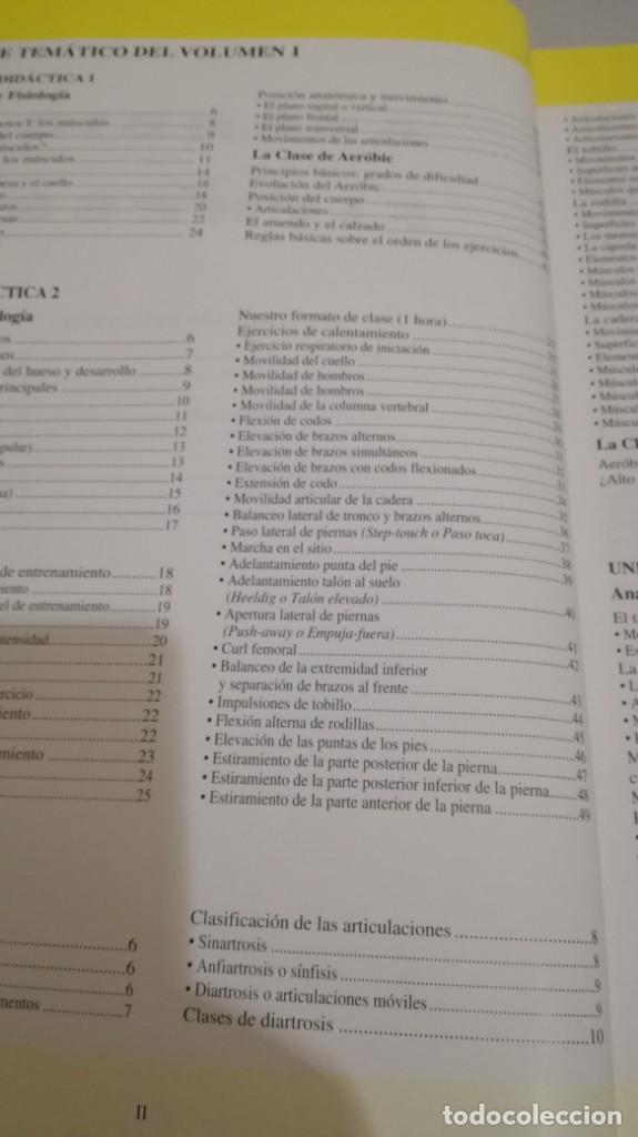 Coleccionismo deportivo: CURSO PARA MONITORES DE AEORBIC/ 1 Y 2/ SUBRAYADOS Y ANOTACIONES - Foto 8 - 147641174