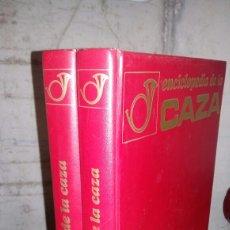 Coleccionismo deportivo: ENCICLOPEDIA DE LA CAZA. VERGARA. 2 TOMOS. Lote 147721918