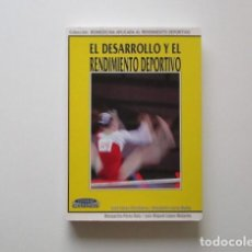 Coleccionismo deportivo: EL DESARROLLO Y EL RENDIMIENTO DEPORTIVO,. Lote 147759250