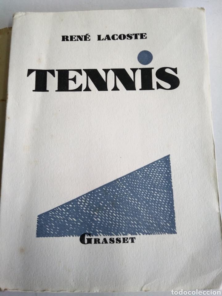RENE LACOSTE. TENNIS. GRASSET 1928. INTONSO. (Coleccionismo Deportivo - Libros de Deportes - Otros)