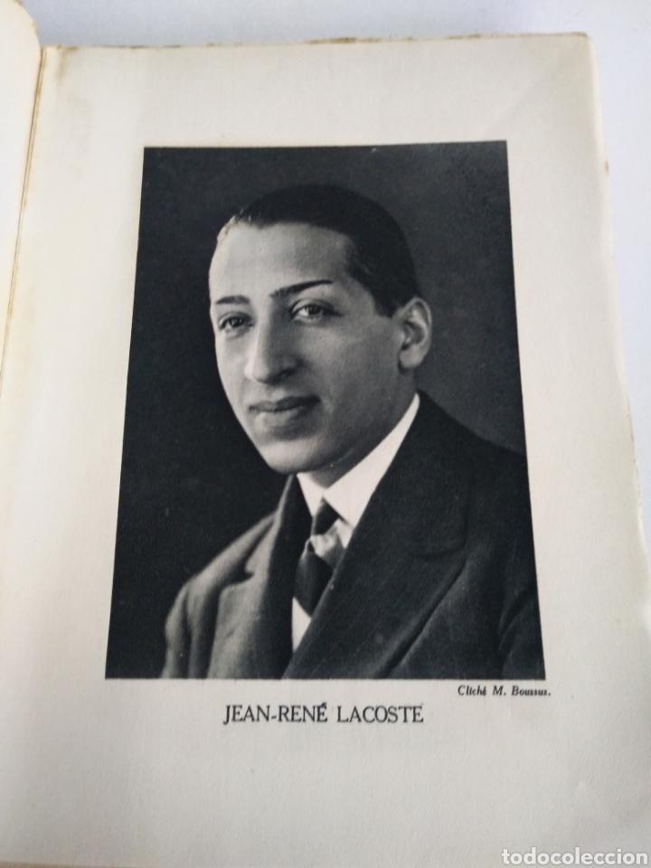 Coleccionismo deportivo: RENE LACOSTE. TENNIS. GRASSET 1928. INTONSO. - Foto 2 - 148803292
