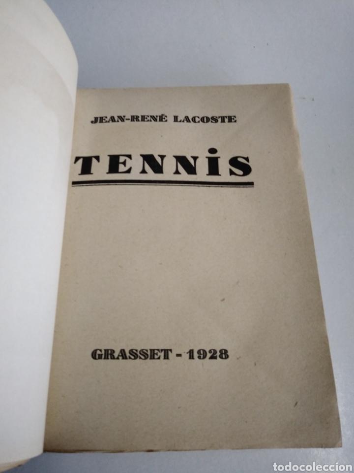 Coleccionismo deportivo: RENE LACOSTE. TENNIS. GRASSET 1928. INTONSO. - Foto 5 - 148803292