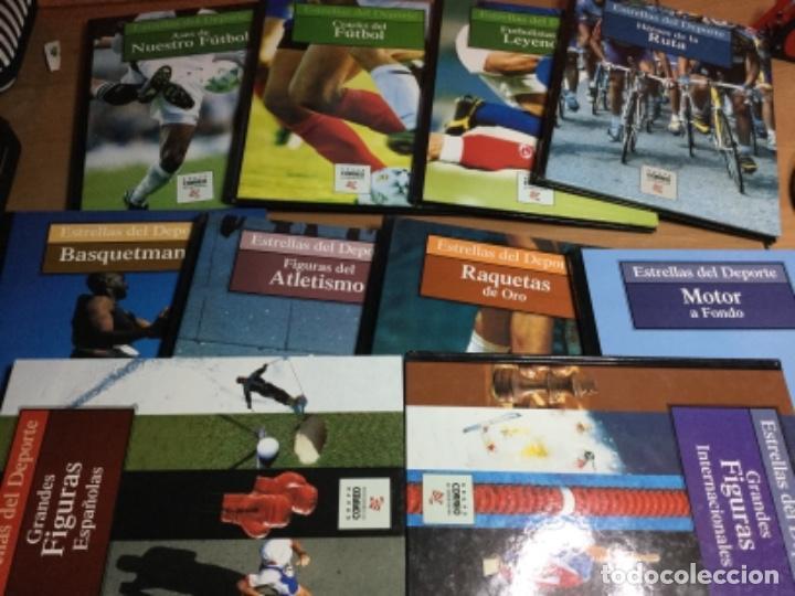COLECCIÓN COMPLETA DE 10 TOMOS DE ESTRELLAS DEL DEPORTE (Coleccionismo Deportivo - Libros de Deportes - Otros)