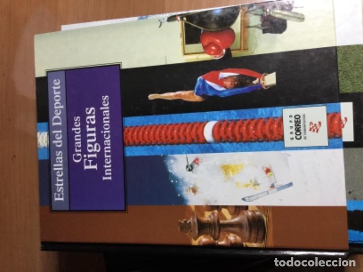 Coleccionismo deportivo: Colección completa de 10 tomos de ESTRELLAS DEL DEPORTE - Foto 3 - 149504862