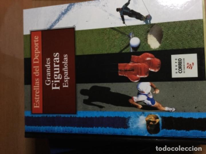 Coleccionismo deportivo: Colección completa de 10 tomos de ESTRELLAS DEL DEPORTE - Foto 4 - 149504862